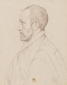 Jean Dorat (1508-1588), BNF, Département des estampes, vers 1585
