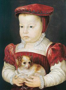 Portrait de François d'Alençon enfant