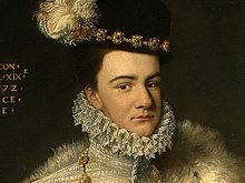 Portrait de François de Valois en 1572