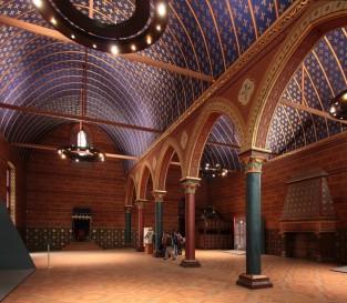 Salle dite des États, au château de Blois, où les États généraux se réunirent en 1576 et 1588.