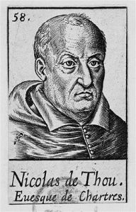 Nicolas de Thou évêque de Chartres