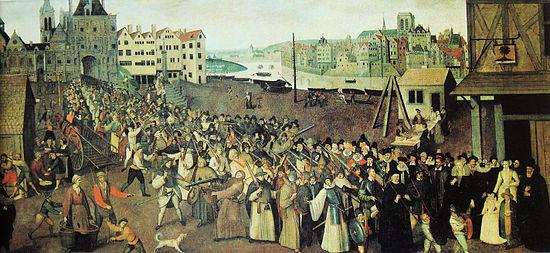 Procession armée de la Ligue en 1590 (Musée Carnavalet)