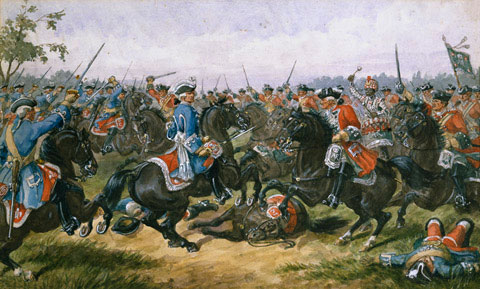 Bataille de Malplaquet, 1709