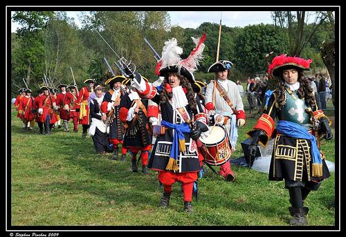 Reconstitution de la bataille de Malplaquet, tricentenaire de 2009