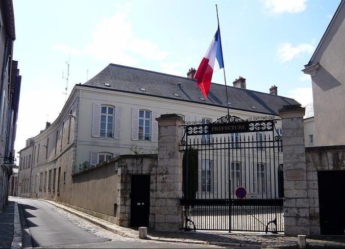 Préfecture d'Eure-et-Loir, Hôtel des Ligneris (1795), Chartres (France)