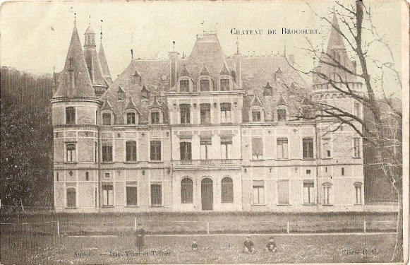 Le château de Brocourt après 1850