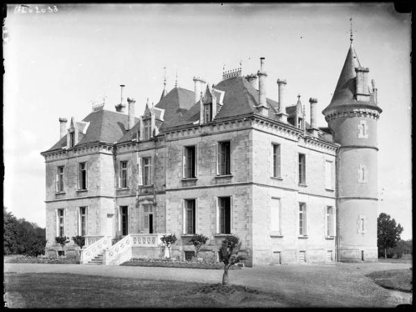 Château de Rezay, à Mâron (Indre)